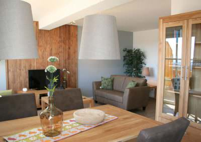 Woonkamer appartement Bergblick